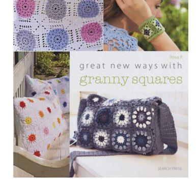 crochet granny squares book