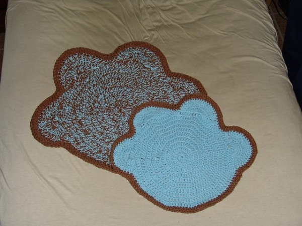 crochet paw patterns