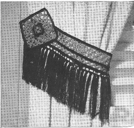 curtain tieback 1941 crochet pattern
