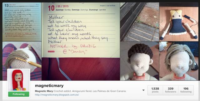 instagram crochet magneticmary