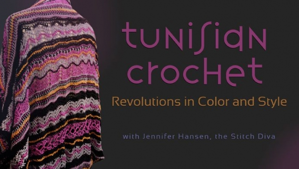 Crocheting Classes Online : Tunisian Crochet Classes Online