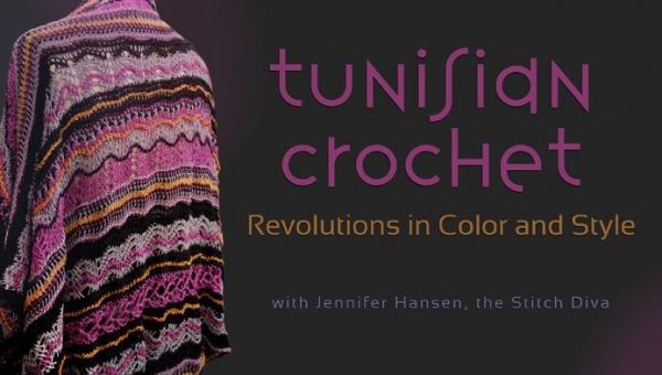 Crocheting Classes Online : Tunisian Crochet Classes Online