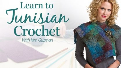 tunisian crochet class