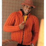 zippered crochet sweater pattern