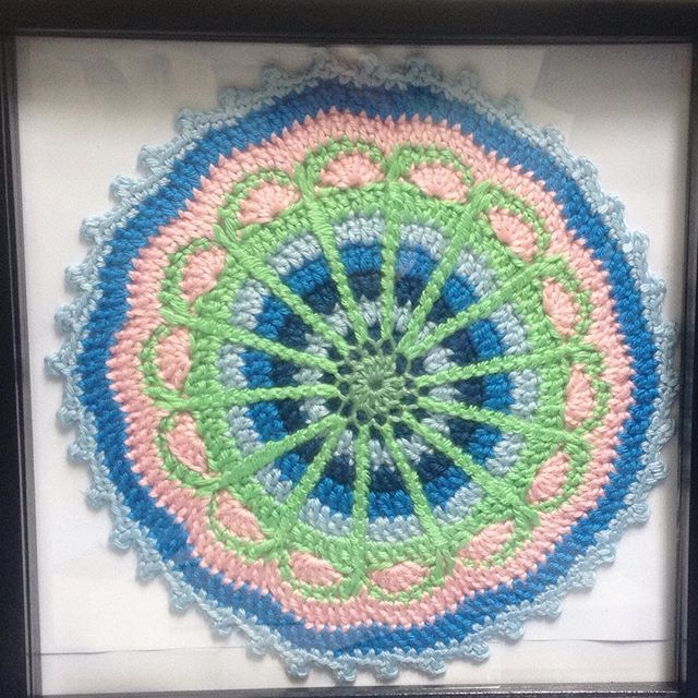 ahappycrocheter crochet mandala