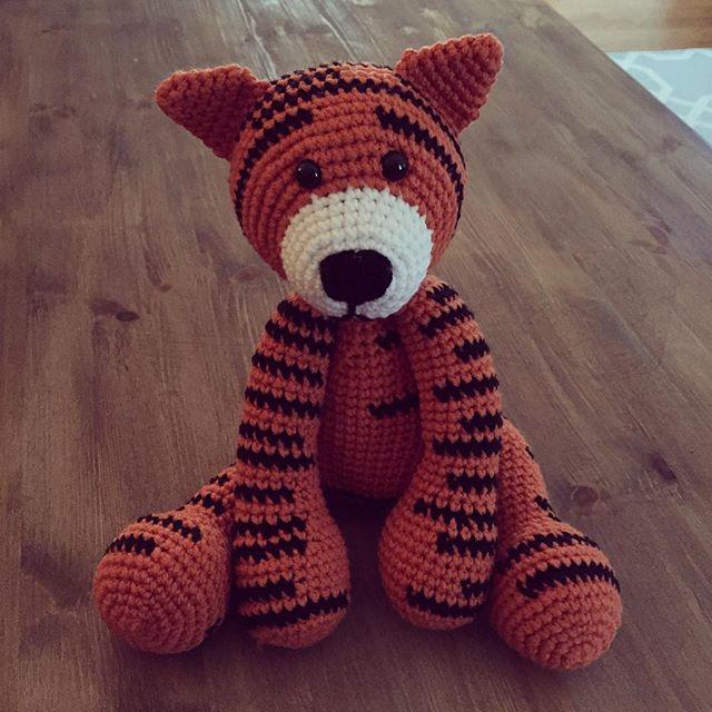 amimami10 crochet tiger