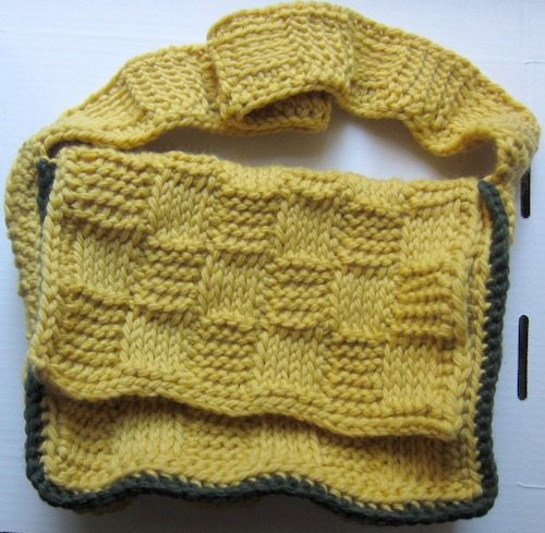 basketweave crochet bag pattern