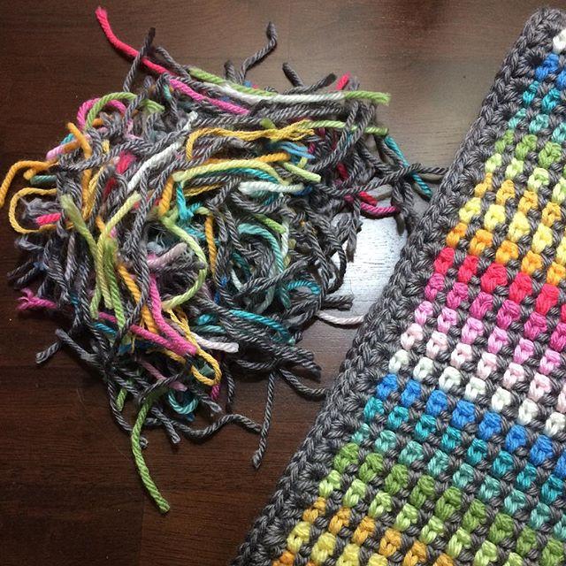 caswelljones crochet yarn ends