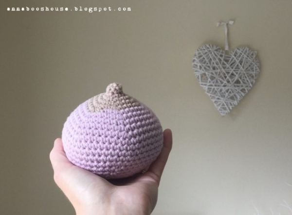 crochet boobs pattern