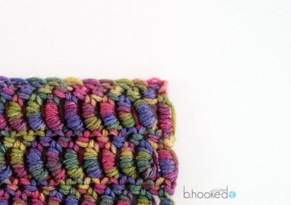 crochet bullion stitch