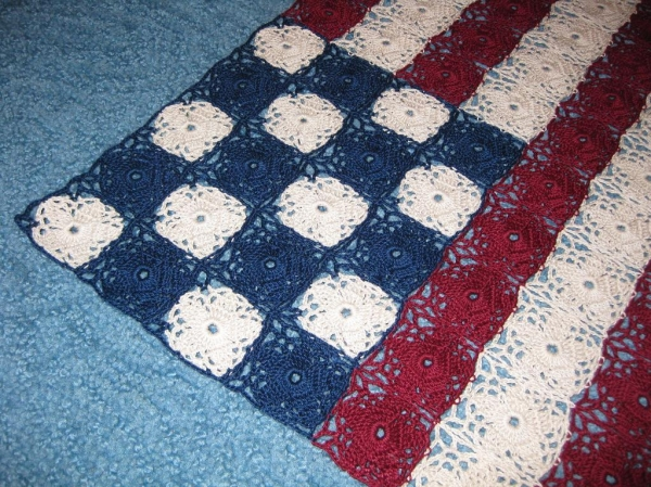 crochet flag pattern