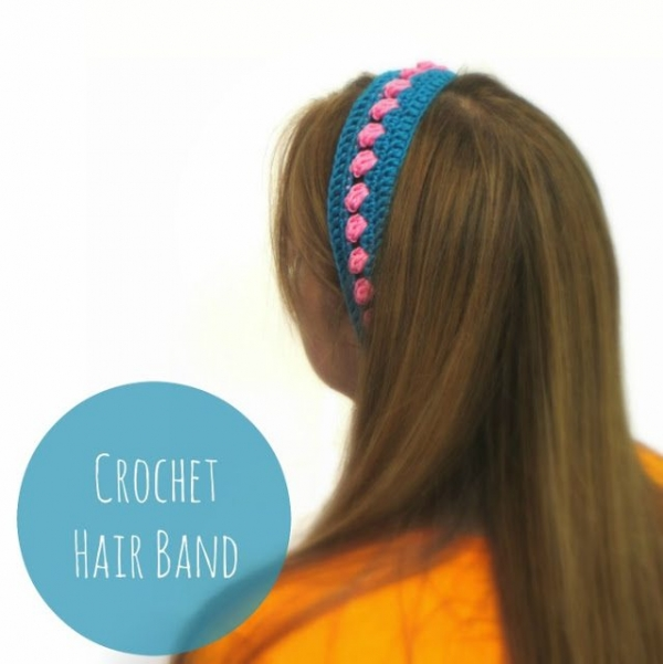 crochet hairband free pattern