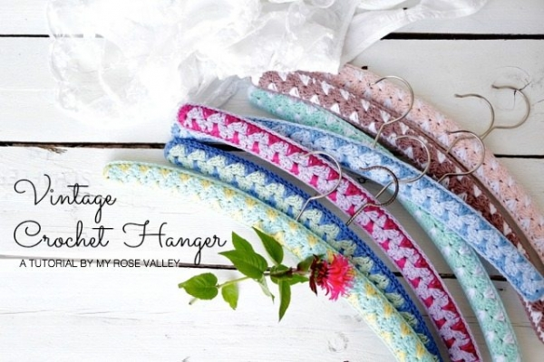 crochet hanger tutorial