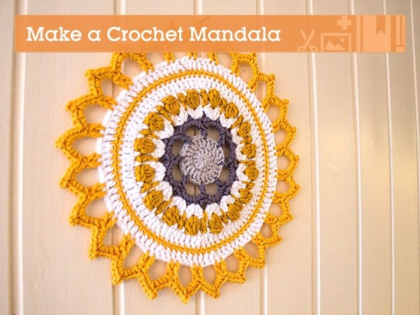 crochet mandala tutorial