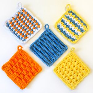crochet scrubbie patterns