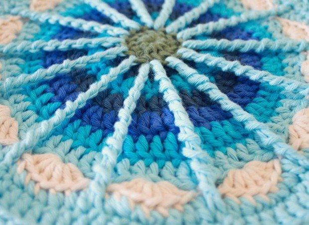 crochet spoke mandala