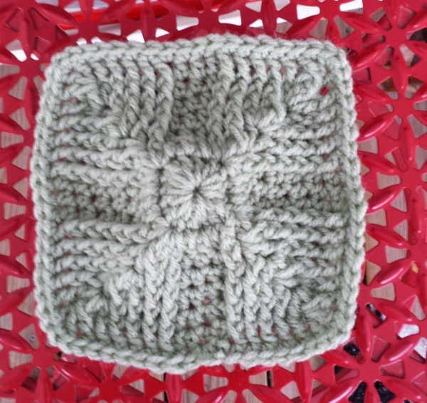 crochet square pattern