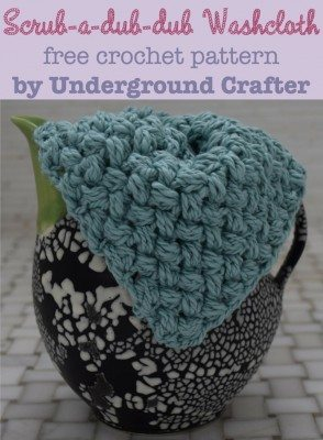 crochet washcloth free pattern