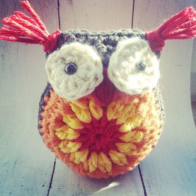 crochetbetweenworlds crochet owl