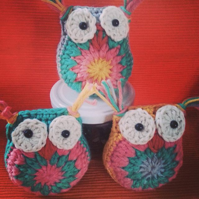 crochetbetweenworlds crochet owls