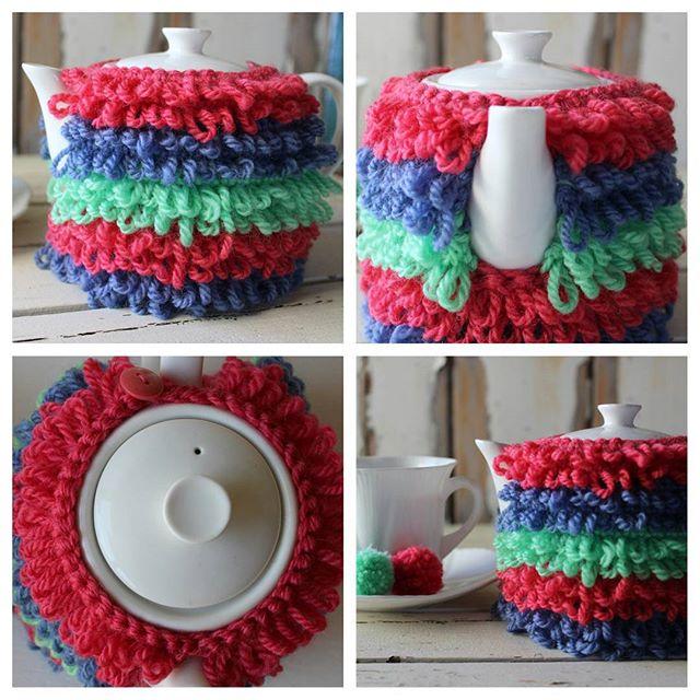 crochetgirl99 croche tea cozy