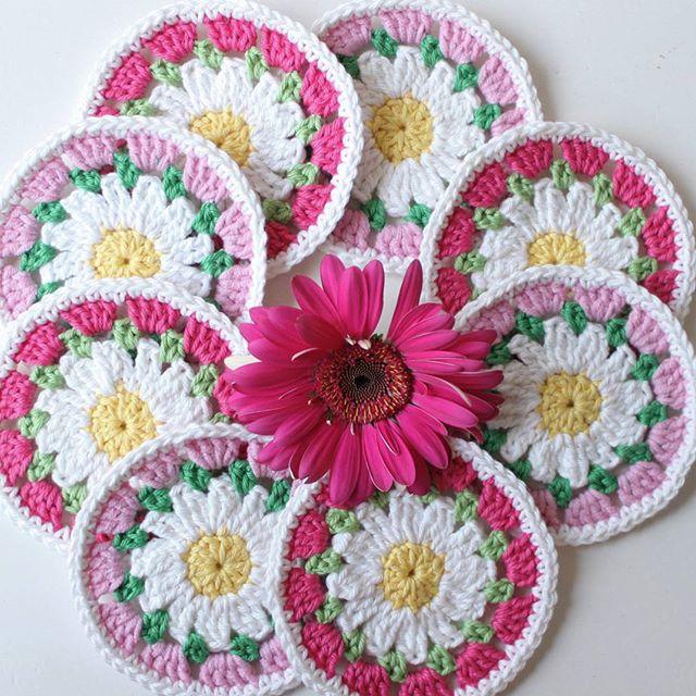 crochetgirl99 crochet coasters
