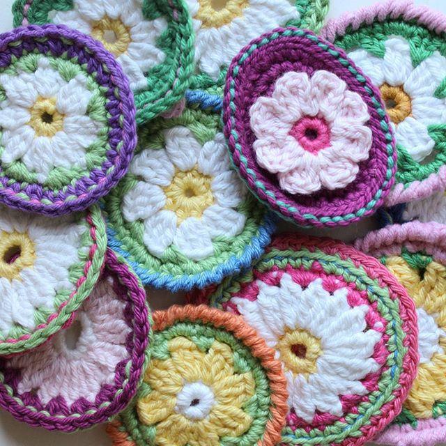 crochetgirl99 crochet daisies