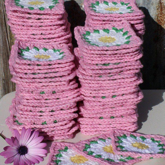 crochetgirl99 crochet flower squares