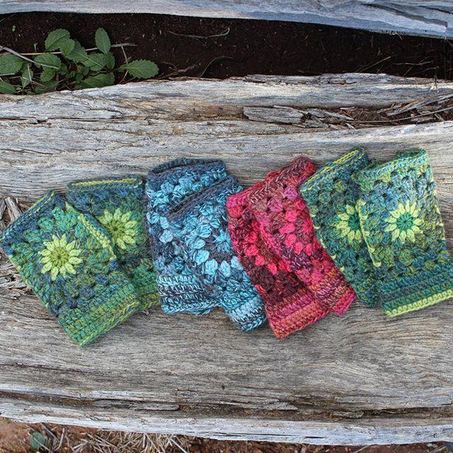 crochetgirl99 crochet mitts