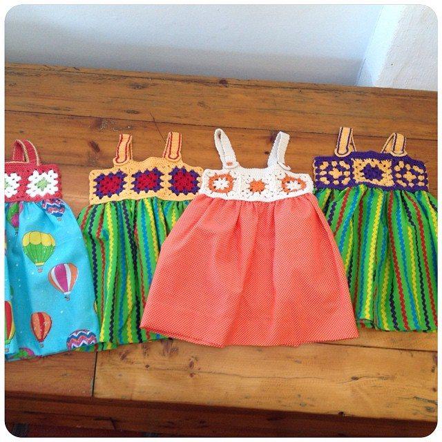 crochetinpaternoster crochet charity dress donation