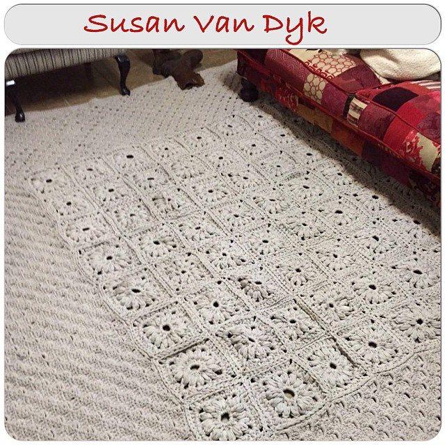 crochetinpaternoster crochet tshirt yarn rug
