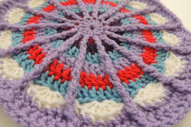 crochet spoke mandala