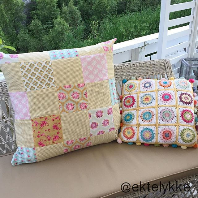 ektelykke crochet cushion
