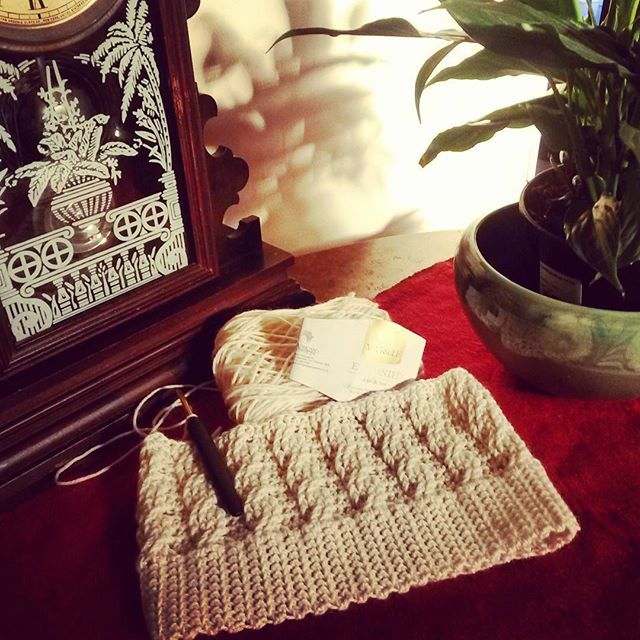 elzavan912 crochet beanie wip