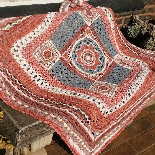 elzavan912 crochet blanket