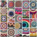 february 2016 crochet mandalas