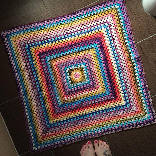 foxyloxy69 crochet granny square