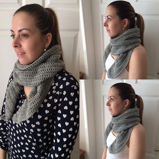 foxyloxy69 crochet scarf
