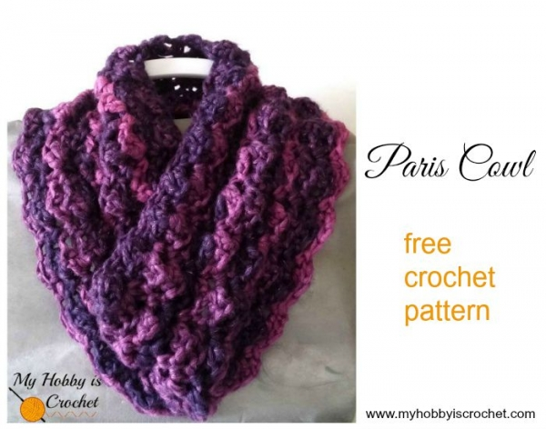 Free Crochet Pattern For A Cowl : 150+ More Free 2015 Crochet Patterns Crochet ...