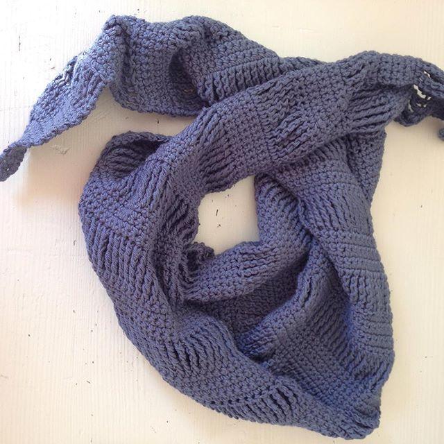 gooseberryfool crochet scarf