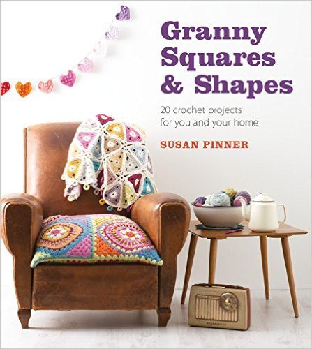 granny square crochet project book