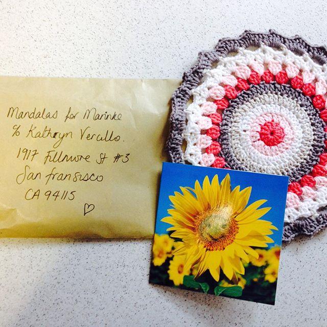 happy_thimble crochet mandala
