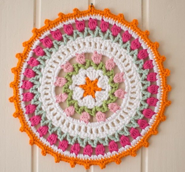 Crochet Free Pattern Mandala : 9 Crochet Mandala Patterns by Marinke
