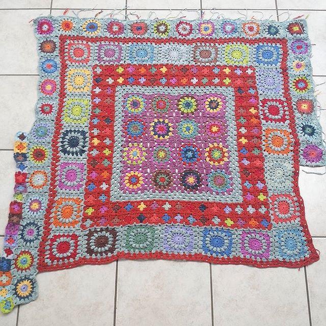 hookybren crochet granny squares
