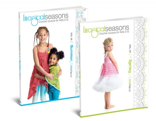 imagical seasons crochet books