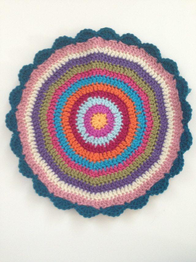 Anonymous crochet mandala contribution to mandalasformarinke