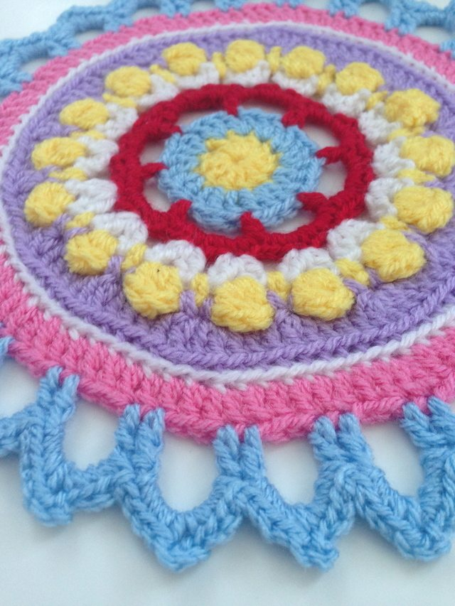Sewchet's Crochet Contribution to Mandalas for Marinke