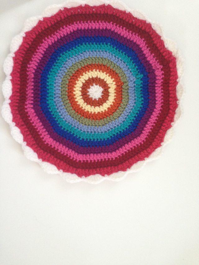 LuAnn's Crochet Contribution to Mandalas for Marinke