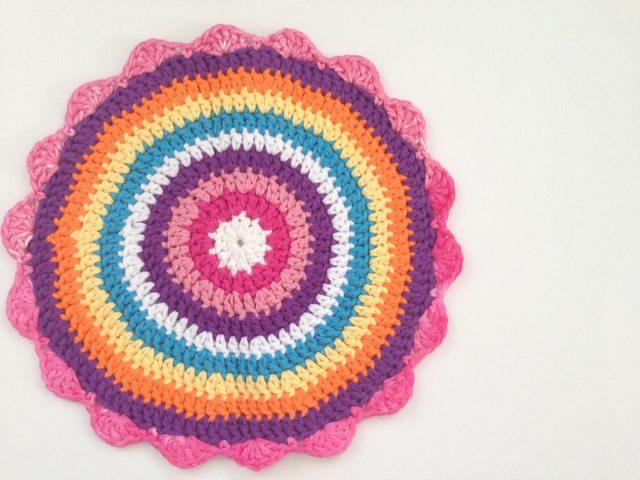 Lynette's Crochet Contribution to Mandalas for Marinke