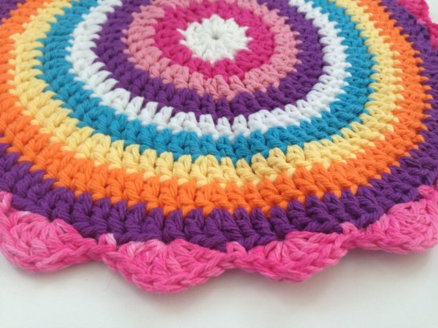 Lynette's Crochet Contribution to Mandalas for Marinke